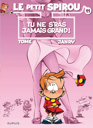 © Éditions Dupuis; dessin : Janry; scénario : Tome